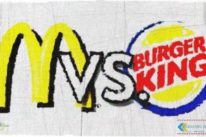 La (finta) guerra dei grandi marchi di hamburger