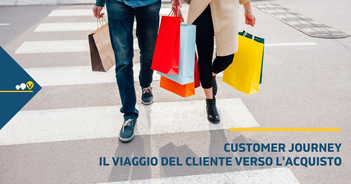 Customer journey: il viaggio del cliente verso l'acquisto
